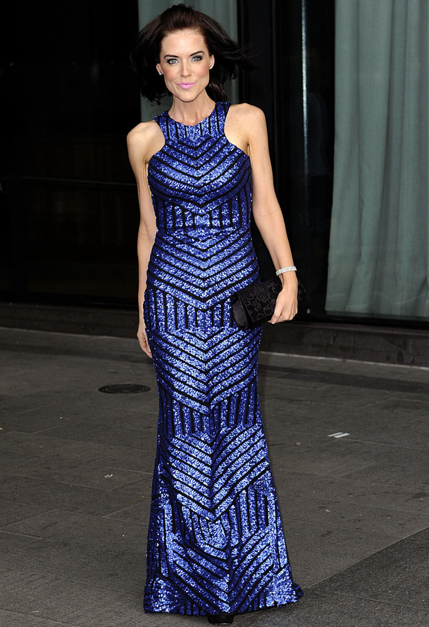 Once Upon A Smile Ball, Hilton Hotel. Manchester, Britain - 27 Apr 2014 Stephanie Waring