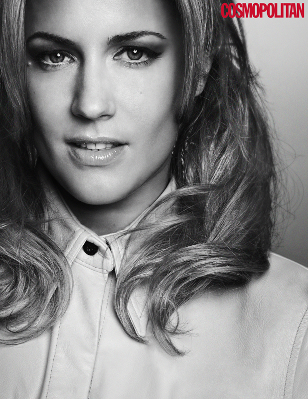 Caroline Flack for June 2014 Cosmopolitan UK. The full interview appears in the June 2014 issue of Cosmopolitan, on sale 1st May