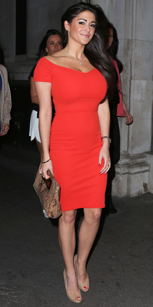 Casey Batchelor at the launch party for the new luxury eyelash brand Secret Diva at Steam and Rye, 30 April 2014