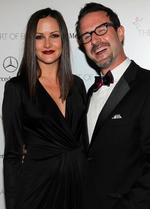 David Arquette and Christina McLarty, The Art of Elysium's 7th Annual HEAVEN Gala in LA, January 2014