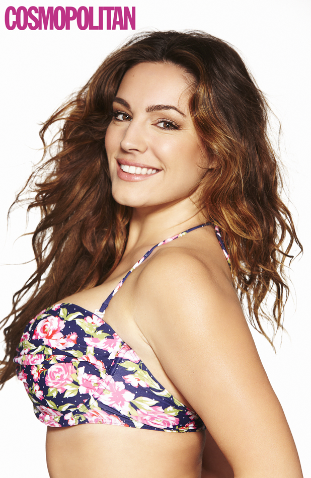 Kelly Brook on the cover of Cosmopolitan Body, Cosmopolitan's health and fitness magazine, on sale May 2014.