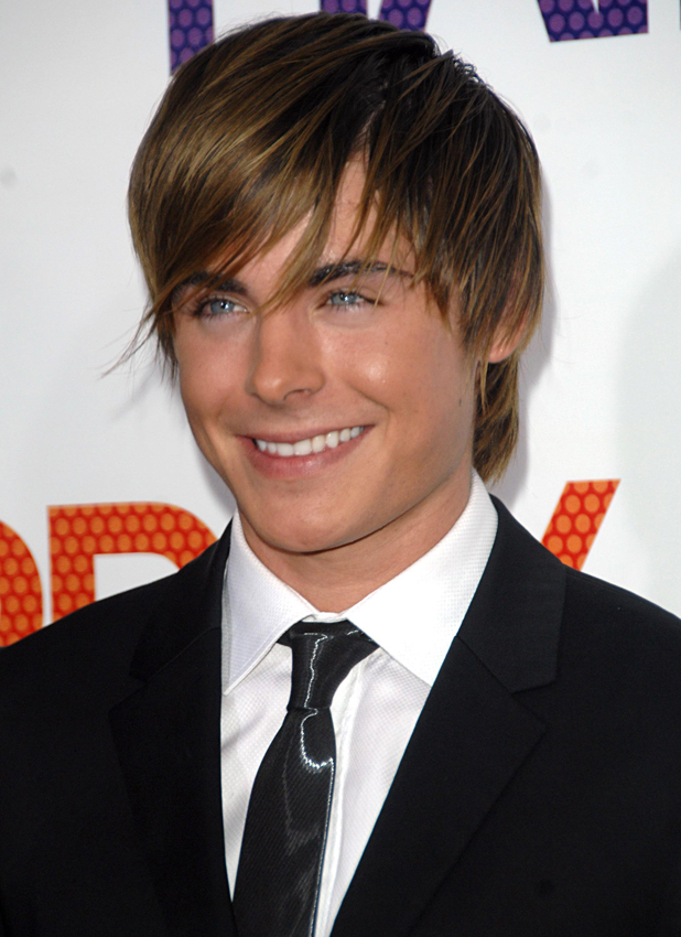 Zac Efron at the New York premiere of 'Hairspray' held at the Ziegfeld theatre, 2007