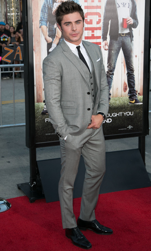 Zac Efron, Universal Pictures World premiere of NEIGHBORS at Regency Village Theater in Westwood, 28 April 2014