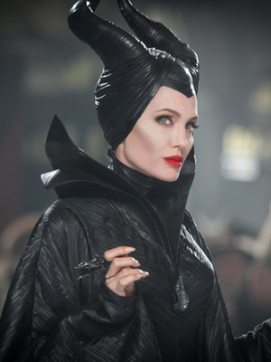 Angelina Jolie in a still from Disney's Maleficent, released 28 May 2014