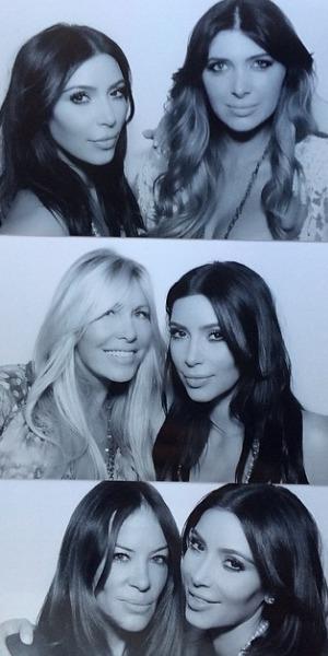 Kim kardashian bridal shower, May 14
