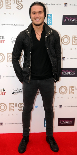 charlie sims attends launch of Chloe Sims' beauty bar in Brentwood - 8 May 2014