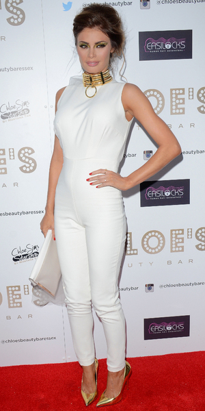 Chloe Sims attends Chloe's Beauty Bar Launch Party at Brentwood, Essex - 8 May 2014