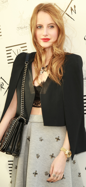 Rosie Fortescue attends Alexandra Felstead: Being Binky - book launch party at Whisky Mist - 05/06/2014