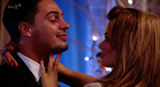 Chloe Sims and Mario Falcone on TOWIE 04/03/13