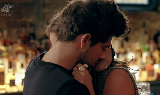 Made In Chelsea's Binky Felstead and Alex Mytton. Episode aired: 21 April 2014.
