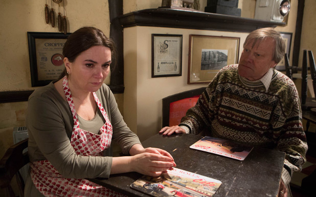 Corrie, Anna tells Roy she's done something terrible, Wed 7 May
