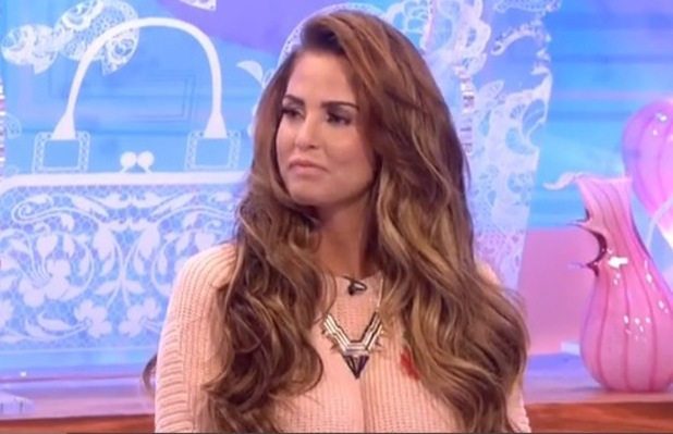 Katie Price appears on Loose Women - 2013
