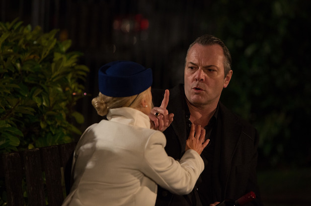 EastEnders, Nikki tries to kiss David, Fri 9 May