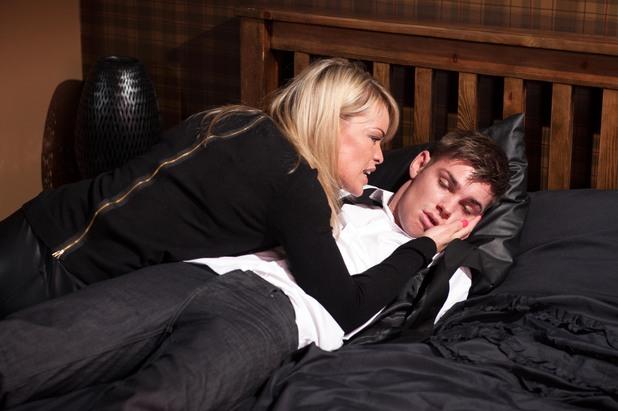 Hollyoaks, Grace kidnaps Ste, Fri 9 May