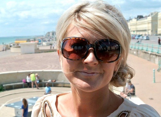 Anna Taylor, sunbeds have scarred me for life