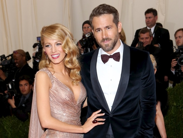 Blake Lively and Ryan Reynolds attend the Costume Institute Gala at the Metropolitan Museum of Art in New York, America - 5 May 2014