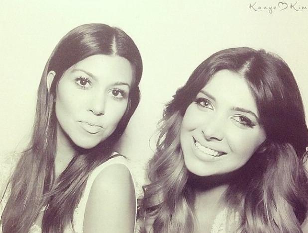 Kourtney kardashian Kim bridal shower, May 14