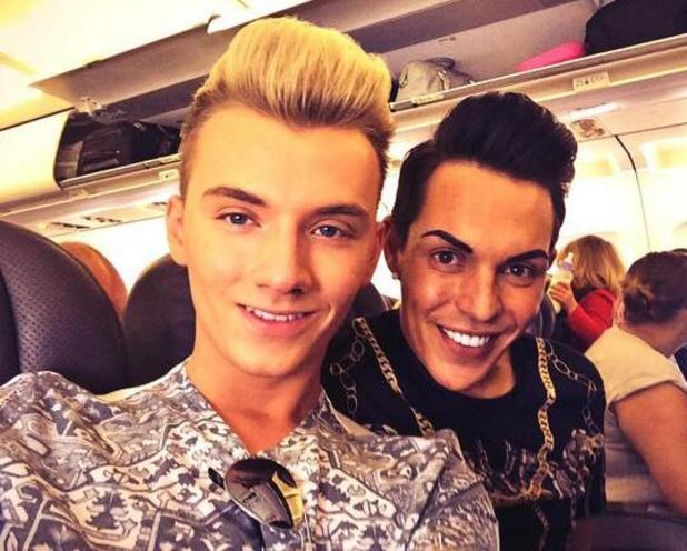 Harry Derbidge and Bobby Norris fly off on their first romantic holiday - 7 May 2014