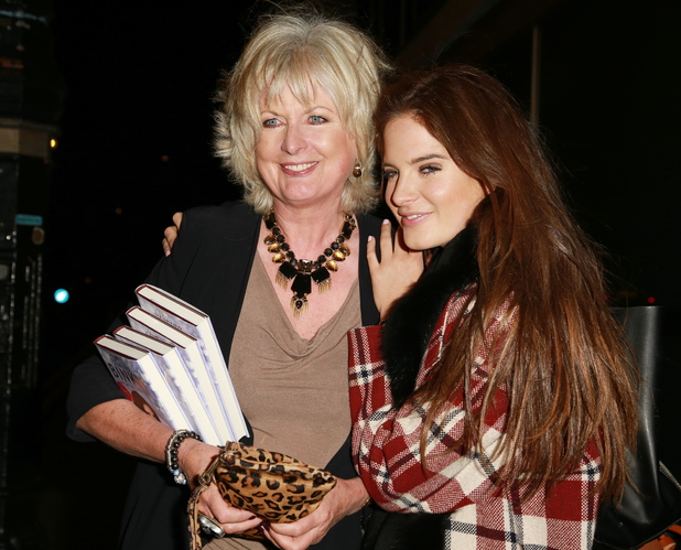 Binky and Jane Felstead at Alexandra Felstead: Being Binky - book launch party at Whisky Mist 05/06/2014 London, United Kingdom