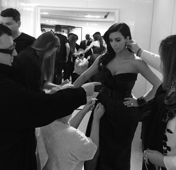 Kim Kardashian attends the Met Ball Gala in New York - 5 May 2014