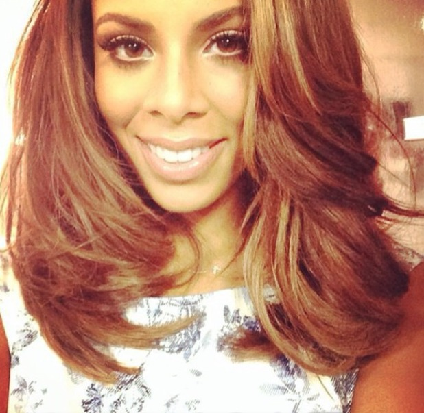 Rochelle Humes gets the chop, 25 April 2014