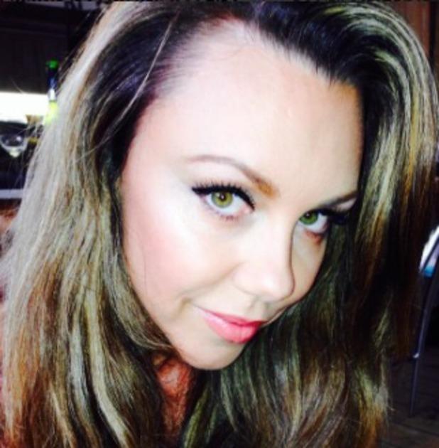 Michelle heaton selfie