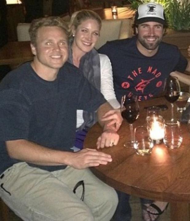 Spencer Pratt and Heidi Montag reunite with Brody Jenner at Nobu in Malibu - 3 May 2014