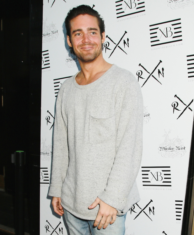 Spencer Matthews at Binky Felstead: Being Binky - book launch party at Whisky Mist 05/06/2014 London, United Kingdom