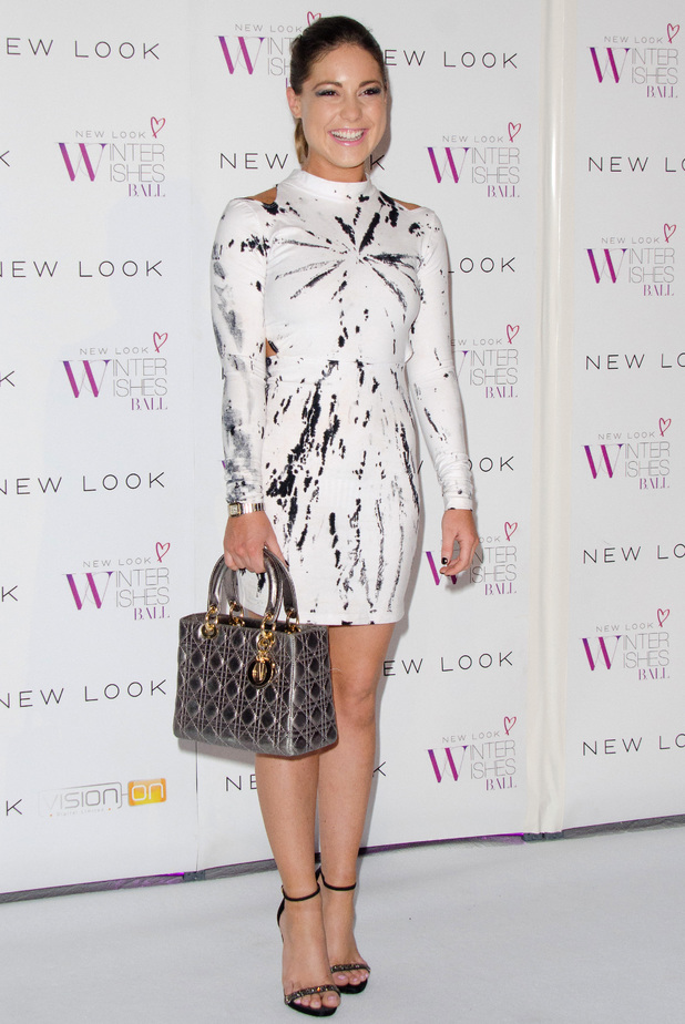 Louise Thompson at the New Look Winter Wishes Charity Ball held at Battersea Evolution - Arrivals 11/06/2013 LLondon, United Kingdom