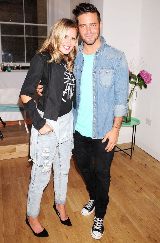 Caggie Dunlop and Spencer Matthews - Iswai Pop-Up Shop Launch hosted by Caggie Dunlop, London, Britain - 28 Aug 2013