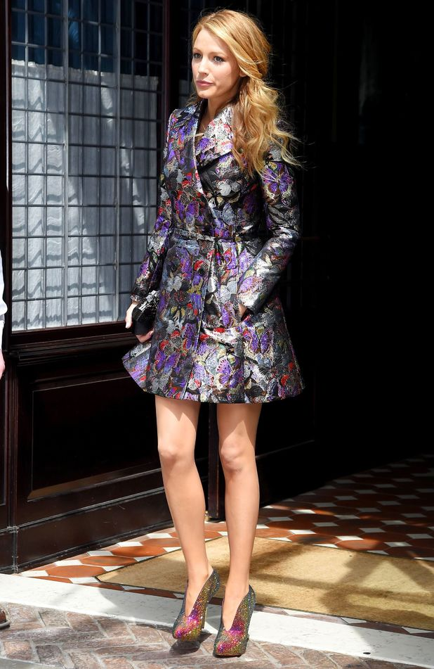 Blake Lively out in Tribeca, New York, America - 7 May 2014