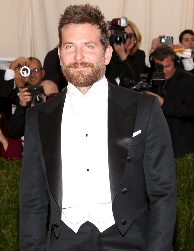 Bradley Cooper at the Beyond Fashion Costume Institute Gala at the Metropolitan Museum of Art, 5 May 2014