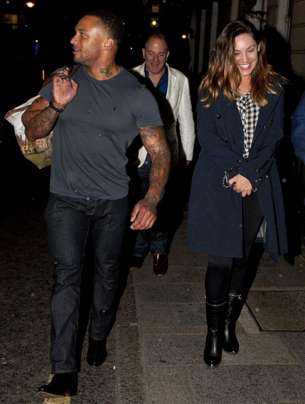 Kelly Brook and David McIntosh out and about, London, Britain - 06 May 2014