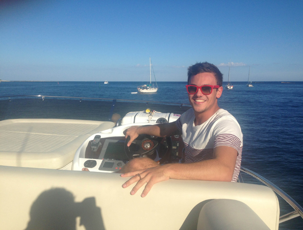 Tom Daley Goes Global, episode airing 8 May 2014: Tom in France