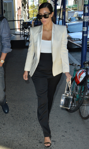 Kim Kardashian out and about in New York, 5 May 2014