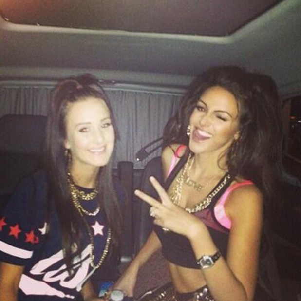 Michelle Keegan shares photo from her Coronation Street leaving do, 8 May 2014