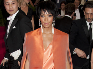 Solange attending the Met Ball 2014 in New York, May 2014