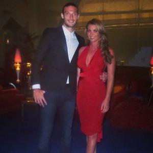 Billi Mucklow and Andy Carroll Dubai Holiday - 13 May 2014