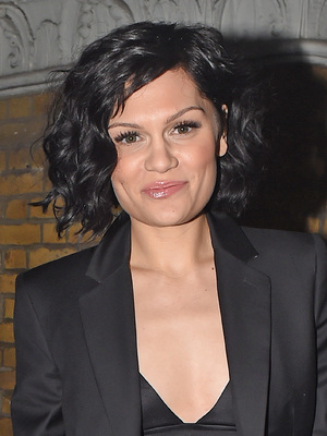 Jessie J leaving her 26th birthday party at Oslo bar in Hackney prior to her secret gig at the venue earlier on in the night. The 'Do It Like A Dude' singer was seen leaving the party wearing a black two piece smart suit with a black crop top showing off her toned body. 28 May 2014