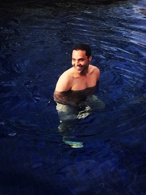 Made In Chelsea's Andy Jordan goes skinny dipping (15 May).
