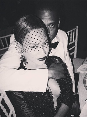 Beyonce and Jay-Z pictured at the Met Ball, 05 May 2014