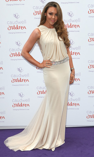 Michelle Heaton attends Caudwell Children Butterfly Ball at Grosvenor House, London - 15 May
