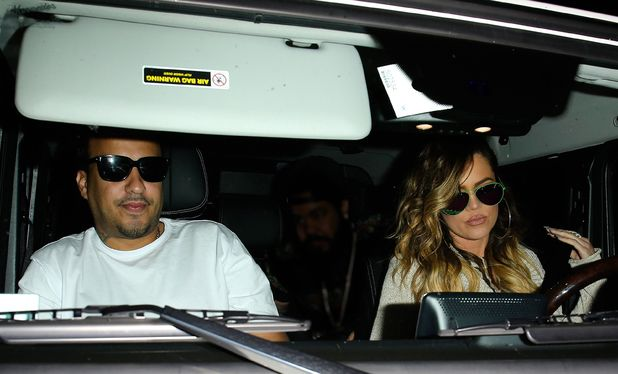 Khloe Kardashian out and about in Los Angeles, America, with French Montana - 26 Apr 2014 Khloe Kardashian and French Montana 26 Apr 2014