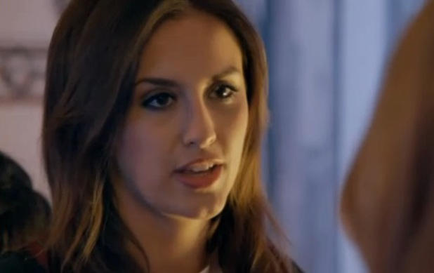 Lucy Watson argues with Rosie Fortescue and Louise Thompson in Made in Chelsea - 12 May 2014