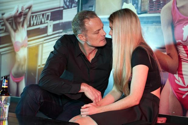 Hollyoaks, Rick kisses Holly, Wed 14 May