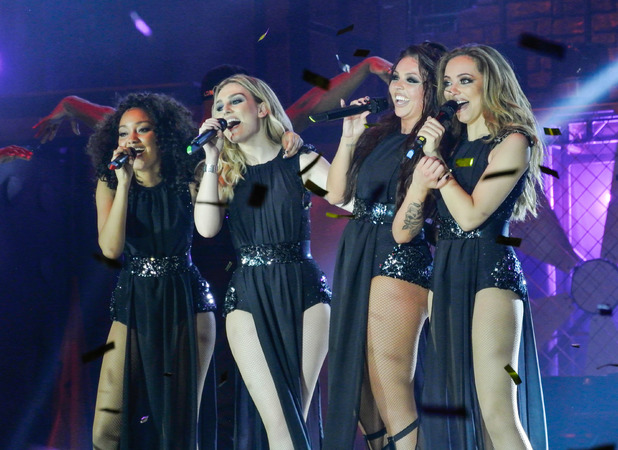 Little Mix Salute Tour Little Mix kick off UK tour at