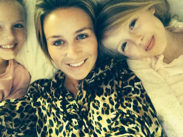 Alex Gerrard wishes daughter Lexie a happy eighth birthday - 9 May 2014