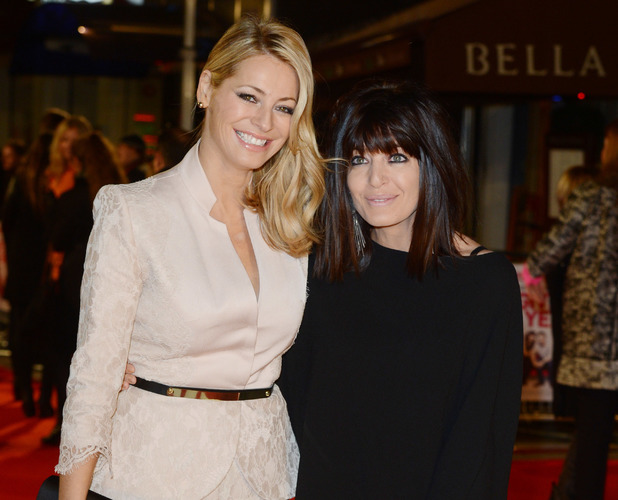 The European premiere of 'I Give It a Year' - Arrivals Tess Daly, Claudia Winkleman 01/24/2013 London