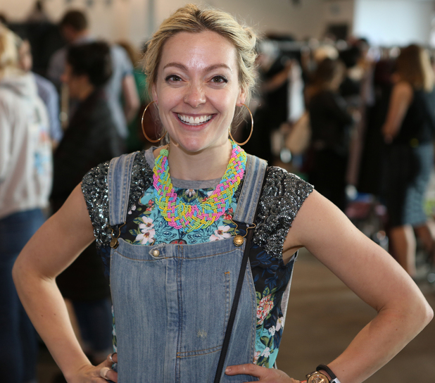 Cherry Healey attends Rumble in the Jumble 3 charity sale - 24 April 2014