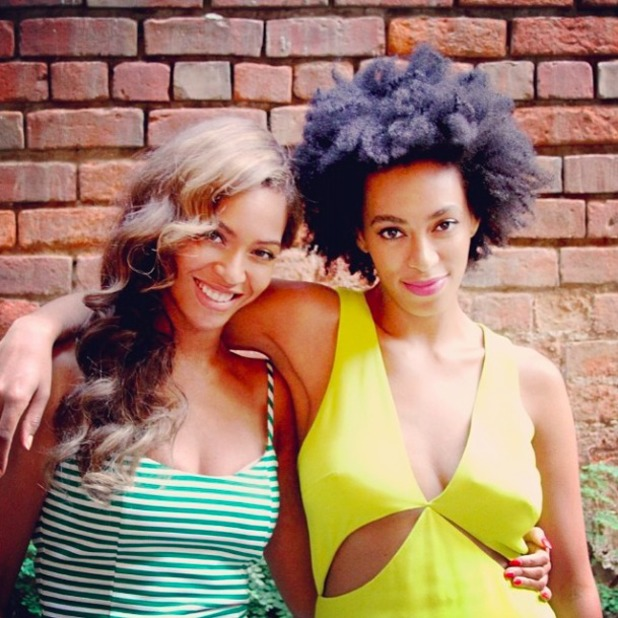 Beyonce and sister Solange pictured for first time since claims Solange attacked Jay Z in a lift at the Met Ball, 14 May 2014